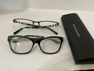 Designer Prescription Glasses Burberry Versace AS IS