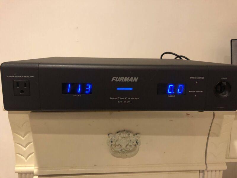 Furman Elite-15 DMi Liner Filtering Power