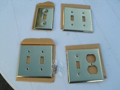 Switch Plates Outlet Covers Vintage Brass Light Switch Covers Plate Vatican