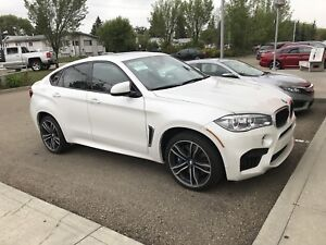 2016 bmw x6m full load red interior $78000