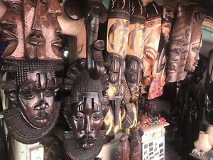 Antique African Art Masks