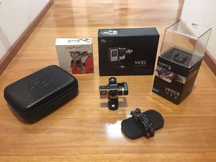 GoPro Hero 4 Black + FeiyuTech Gimbal WG + PeakDesign Capture POV
