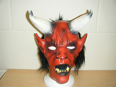 Devil Monster Zombie Costume Halloween Adulte Masque Latex Déguisement ()