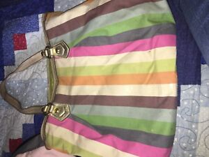 Coach multicoloured purse