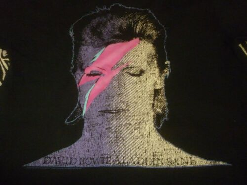 David Bowie Shirt - Used Size l - Nice Condition!!!