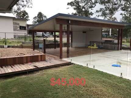 Patio's, decks and outdoor living structures