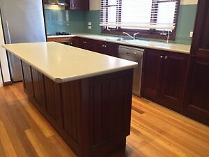Great Quality Solid Dark Timber Kitchen Newport Hobsons Bay Area Preview