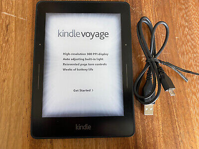 Amazon Kindle Voyage 4GB 6 in. e-Reader Wifi 300PPI Excellent Used Condition