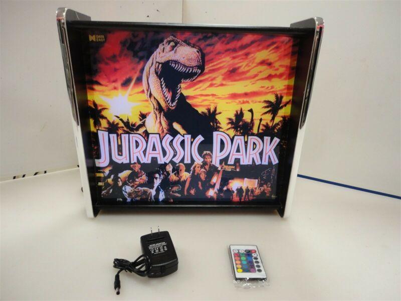 Jurassic Park Data East Pinball Head LED Display light box