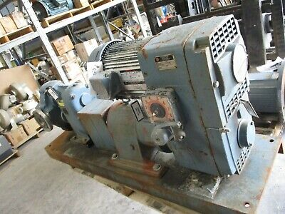 Waukesha Pump With Gear Reducer And Motor 530320b Used