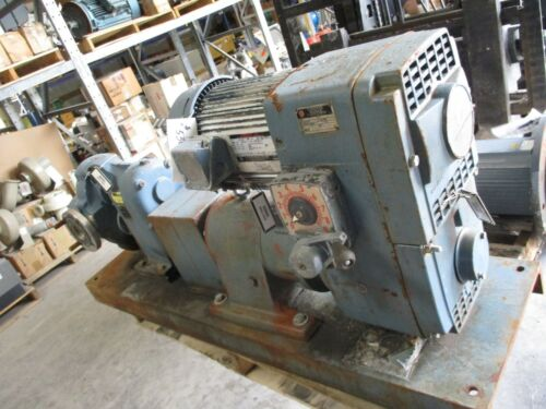 WAUKESHA PUMP WITH GEAR REDUCER AND MOTOR # 530320B USED