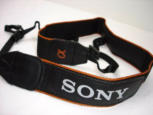 "Genuine SONY Alpha  camera strap  1 3/8"" Wide model  #01943"