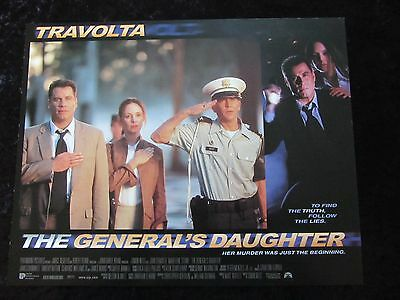THE GENERAL'S DAUGHTER lobby cards JOHN TRAVOLTA, MADELEINE STOWE