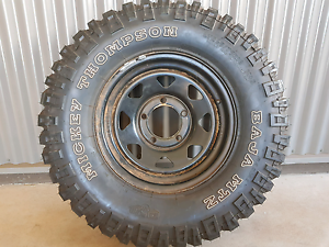 1x Mickey Thompson MTZ tyre South Hedland Port Hedland Area Preview