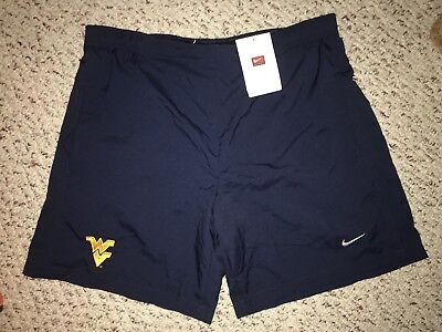 - NWT Nike West Virginia Mountaineers Womens Fit Dry Training Athletic Shorts *M*