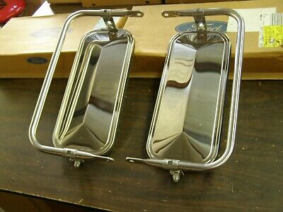 NOS OEM Ford 1980 1995 Truck F150 Western Mirrors 1981 1982 1983 1984 1985 1986