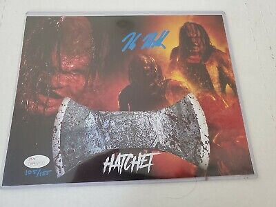 Kane Hodder 8x10 SIGNED 105/155 AUTOGRAPH as Victor Crowley