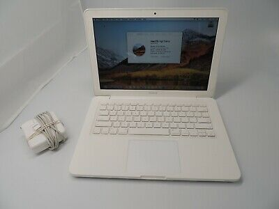 "Apple MacBook A1342 13.3""  MC516LL/A (May, 2010) 250GB HDD 4GB High Sierra"