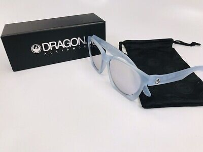 DRAGON DR POST UP Sunglasses 970 Matte Soft Ice with Pearl Ion Lenses New In Box