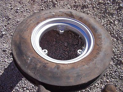 Farmall 350 400 450 Sm Mta Tractor Ih Rim Good 6.00x 16 3rib Firestone Tire