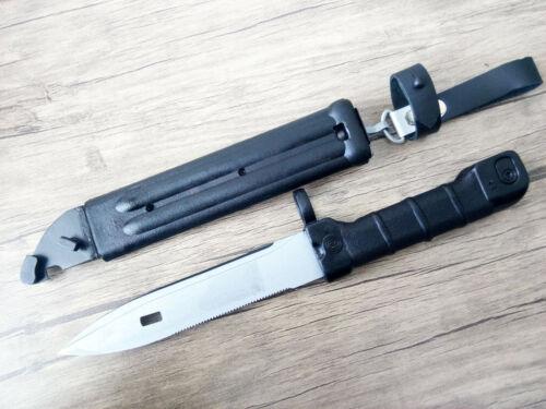 127B Bayonet Knife Arsenal Bulgaria Circle 10 Polymer  Leather Holder Strap