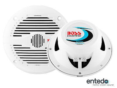 2 BOSS AUDIO MR50W Lautsprecher Speaker Boxen Auto Car Hifi Marine Boot Set NEU Marine Audio Boot