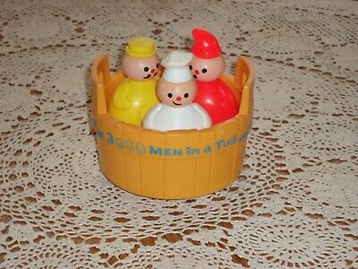1970 Fisher Price 3 Men In A Tub 142