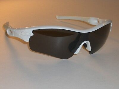 Oakley Radar Umwerfend Weiß Grau Klang Polarisierte Linse Sport Ski