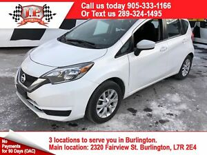 2017 Nissan Versa Note V, Auto, Heated Seats, Back Up Camera,