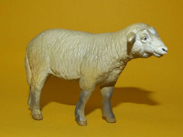 26) Schleich Schleichtier - Ewe Schaf Schäfchen 13101 Dunkel