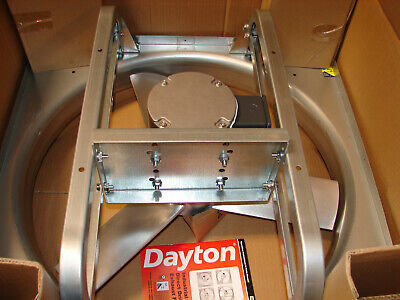 New Dayton 28 X 28 208-230460vacv Industrial Direct Drive Exhaust Fan 10d991
