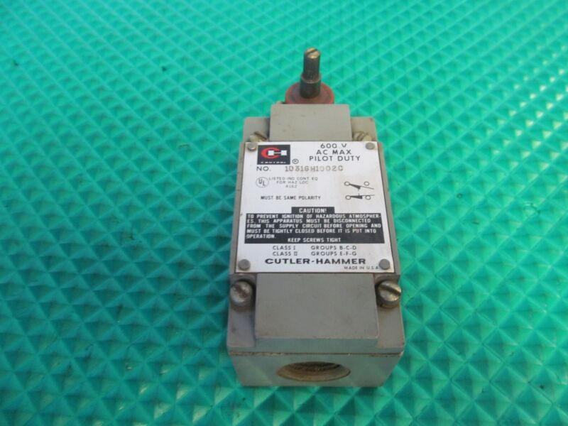Cutler-Hammer 10316H1002C Limit Switch FREE SHIPPING!!