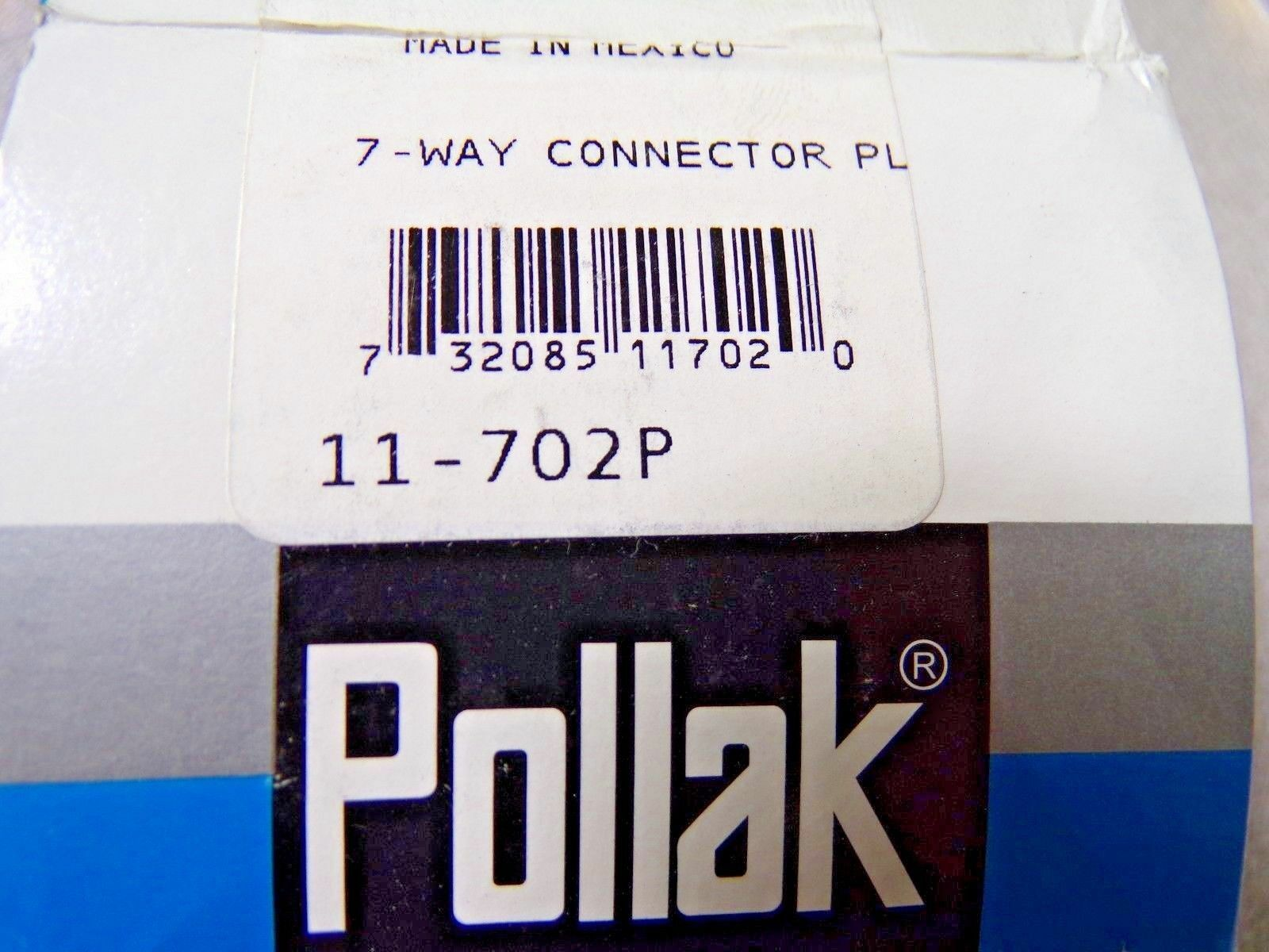 Pollak 7-Way Male Plug Item # 9JH64 Mfr. Model # 11 702P (MG)