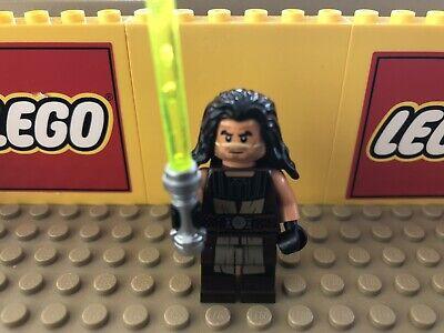 Genuine LEGO Star Wars Quinlan Vos Jedi Master The Clone Wars Minifigure 75151