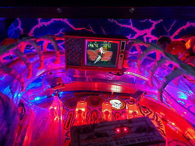 Scared Stiff Pinball mod - TV with VIDEO and SOUND! NEW 2019 version!
