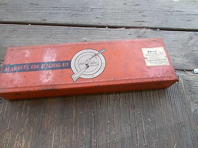 VINTAGE MARBLES GUN CLEANING KIT