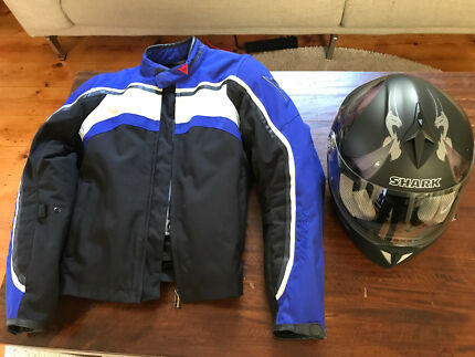 Motorbike jacket and helmet combo East Melbourne Melbourne City Preview