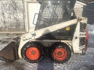 543 bobcat skid steer loader