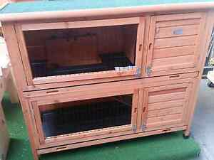 Double story rabbit hutch Skye Frankston Area Preview