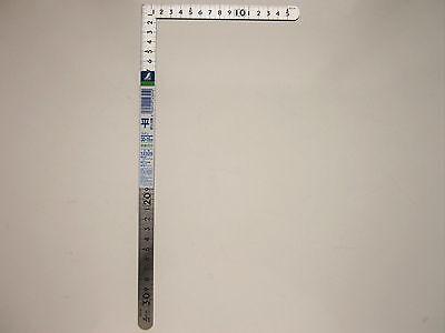 SHINWA Carpenters L-Square 30cm X 15cm Metric Stainless Steel 12325 Japan