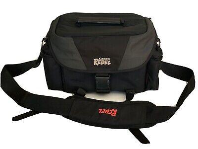 Authentic Canon Rebel Camera Bag Genuine OEM Soft Travel Case Shoulder Strap