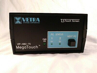Vetra Ts Touch Screen Megatouch Vip-602-ts - Kvm Switch
