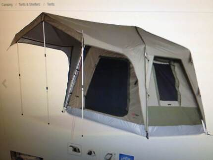 BLACK WOLF TURBO 240 FLY & Black wolf turbo 240 canvas tent | Camping u0026 Hiking | Gumtree ...