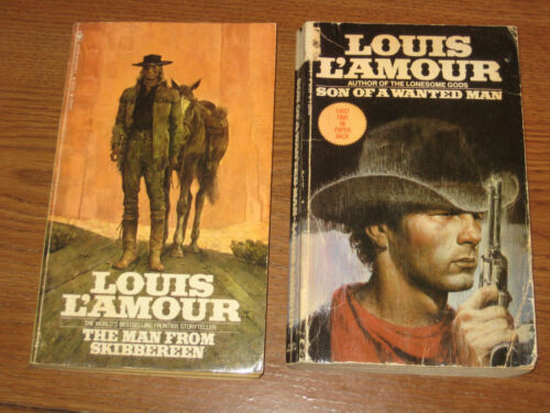 Louis L'Amour The Man From Skibbereen & Son of a Wanted Man