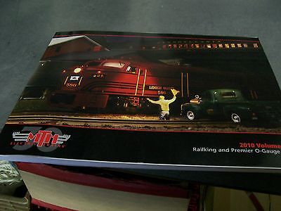 MTH Very Rare Year 2010 Volume Two Railking & Premier 160 Color Page Catalog NEW