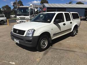 2005 Holden Rodeo LX dual cab Turbo Diesel Manual West Footscray Maribyrnong Area Preview