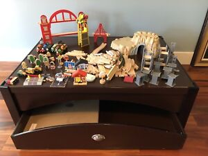 Kids Train set and table