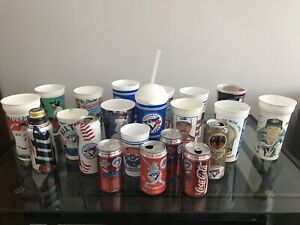 Vintage Toronto Blue Jays Collectible Cups, Cans World Series ++