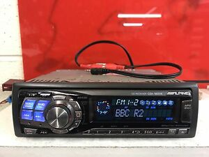 Radio-coche-alpine-Cda-9831r-Top-SPEC-CD-estereo-reproductor-de-Mp3-Trasero-aux-Motorizado-cara