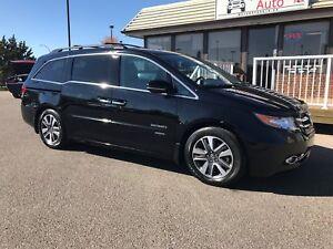 2014 Honda Odyssey Touring REAR SEAT DVD AND NAVIGATION